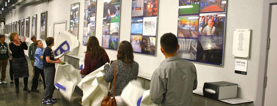 B&HA Community Art unveiling