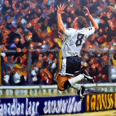 Gazza - with angel wings